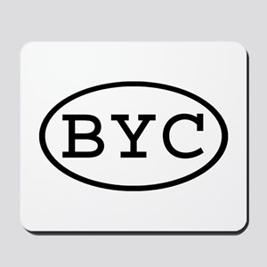 BYC Oval Mousepad
