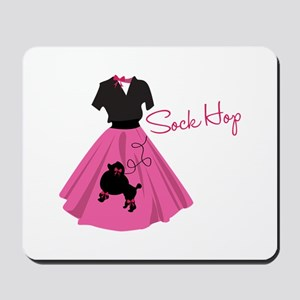 Sock Hop Mousepad