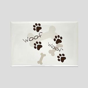 Woof Woof Magnets