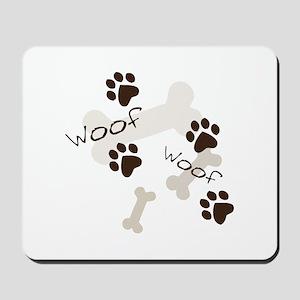 Woof Woof Mousepad