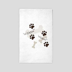 Woof Woof 3'x5' Area Rug