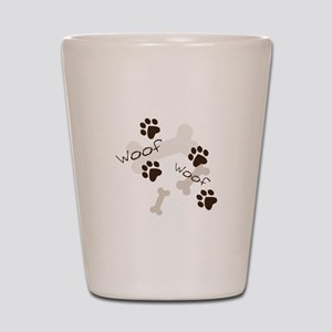 Woof Woof Shot Glass