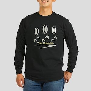 Cool Team Gardener Long Sleeve Dark T-Shirt