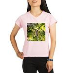Garden Spider Awaits sq Performance Dry T-Shirt