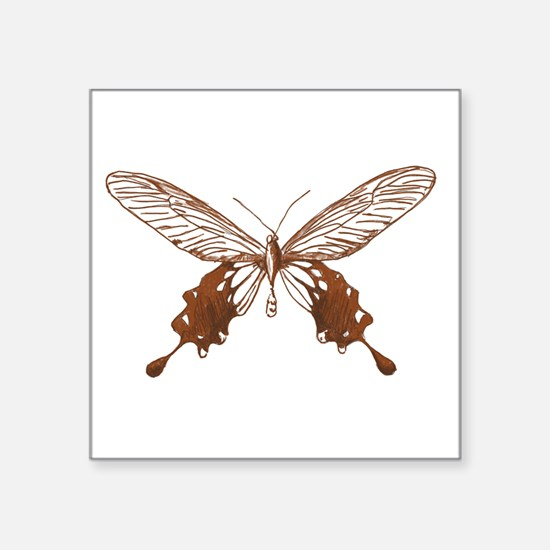 Vintage Butterfly Sticker