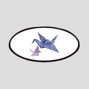 Origami Crane Patches