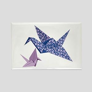 Origami Crane Magnets