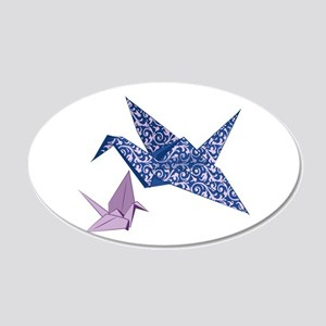 Origami Crane Wall Decal