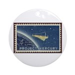 Project Mercury Christmas Tree Ornament (Round)