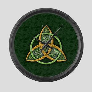 Celtic Trinity Knot Large Wall Clock