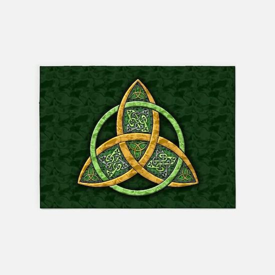 Celtic Trinity Knot 5'x7'Area Rug