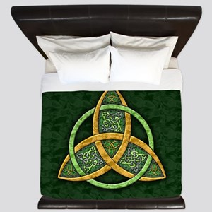 Celtic Trinity Knot King Duvet