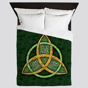 Celtic Trinity Knot Queen Duvet