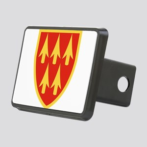 32nd Army Air Defense Comm Rectangular Hitch Cover