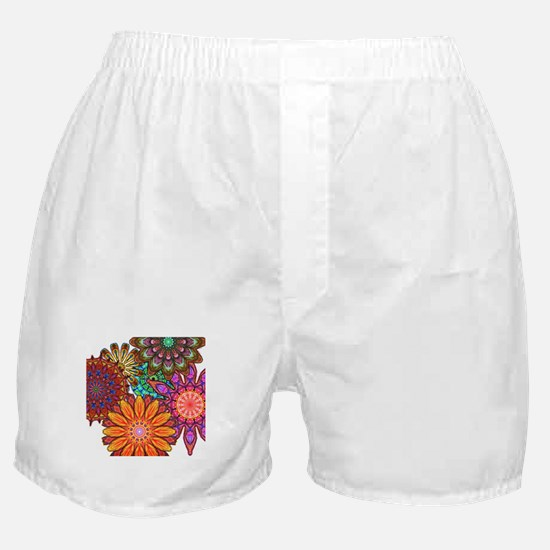 Funky Flowers Boxer Shorts