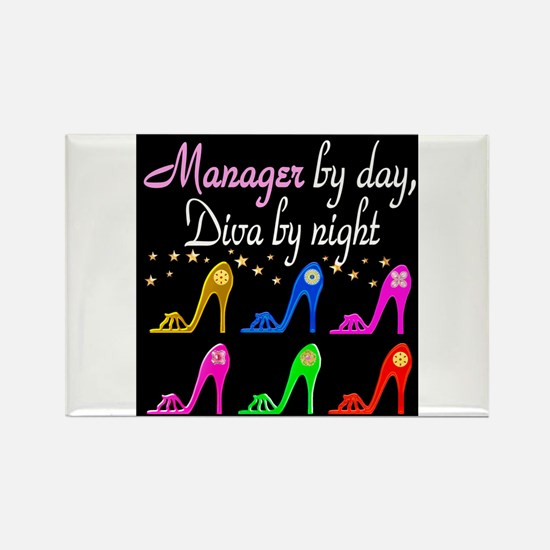 MANAGER DIVA Rectangle Magnet
