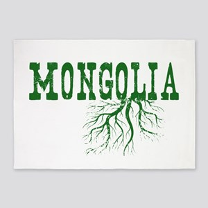 Mongolia Roots 5'x7'Area Rug