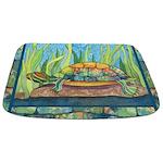 Tie-Dye Turtle Bathmat