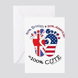 British american greeting cards cafepress british american baby greeting cards m4hsunfo