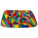 Color Shards Abstract Bathmat