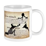 Mug with Fencing actions passatta sotto v fleche