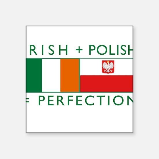 """Unique Polish Square Sticker 3"""" x 3"""""""