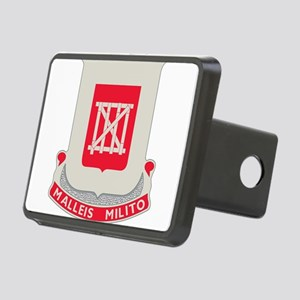 62nd Army Engineer Battali Rectangular Hitch Cover