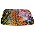 Autumns Trees Painting Bathmat