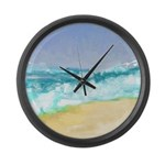 Ocean Vigor Large Wall Clock