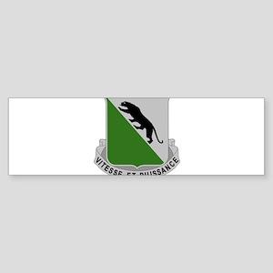 69th Armor Regiment Bumper Sticker