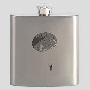 Parachuting Flask