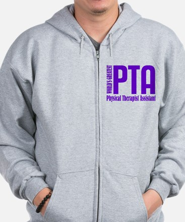 Physical Therapist Assistant Zip Hoodie