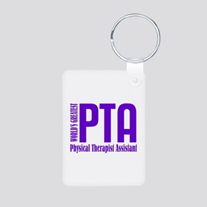 Physical Therapist Assista Aluminum Photo Keychain