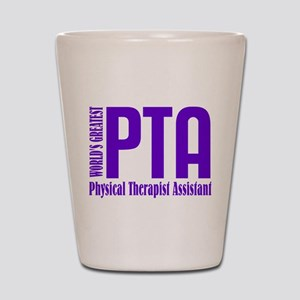 Physical Therapist Assistant Shot Glass
