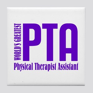 Physical Therapist Assistant Tile Coaster