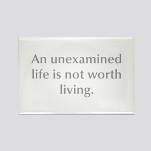 An unexamined life is not worth living Magnets