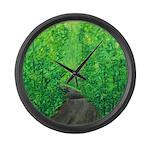 Catskills Spring Large Wall Clock