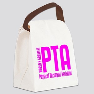 Physical Therapist Assistant Canvas Lunch Bag