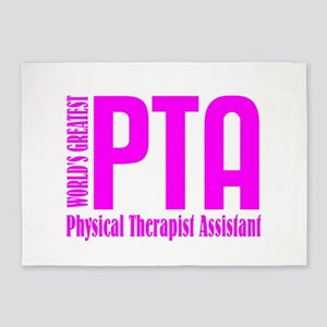 Physical Therapist Assistant 5'x7'Area Rug