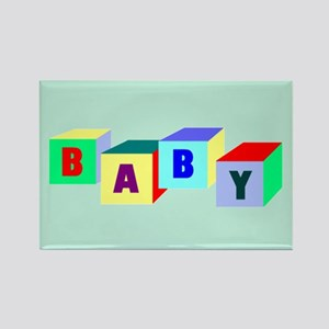 Baby Rectangle Magnet (10 pack)