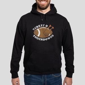 Thanksgiving Turkey and Touchdowns Sweatshirt