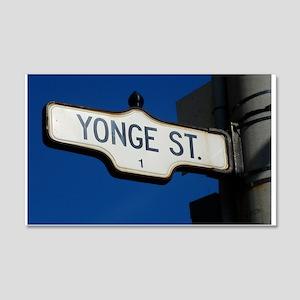 Toronto's Yonge Street Wall Sticker