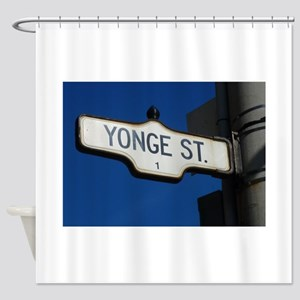 Toronto's Yonge Street Shower Curtain