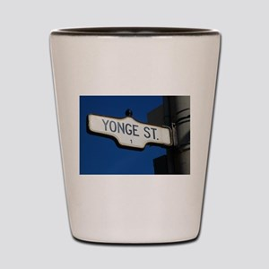 Toronto's Yonge Street Shot Glass