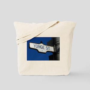 Toronto's Yonge Street Tote Bag