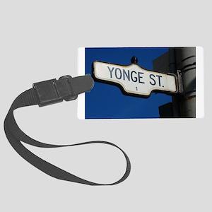Toronto's Yonge Street Large Luggage Tag