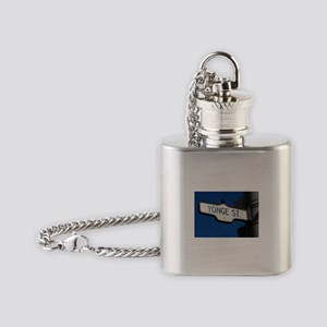 Toronto's Yonge Street Flask Necklace