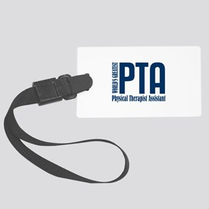 Physical Therapist Assistant Large Luggage Tag