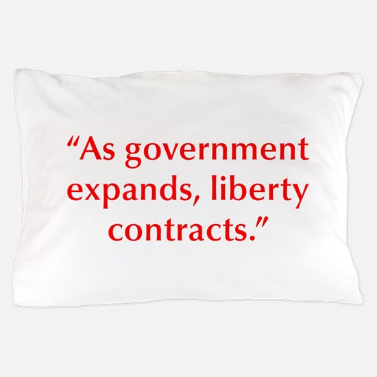 As government expands liberty contracts Pillow Cas