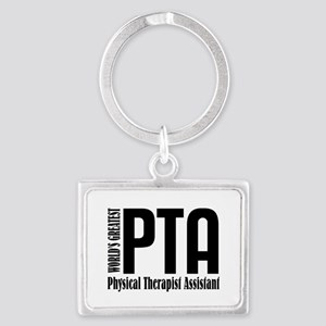 Physical Therapist Assistant Landscape Keychain